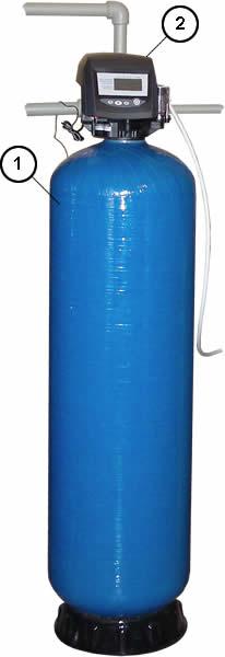 Фильтр для очистки воды засыпного типа